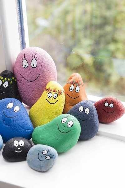 Ожившие камушки