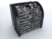 Каменка для сауны на дровах и дымоход для печи - foto 4