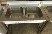 Ванна моечная штампованная,  мойка цельнотянутая из нержавейки - foto 2